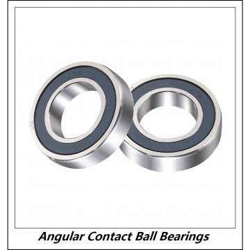 1.969 Inch | 50 Millimeter x 3.543 Inch | 90 Millimeter x 1.189 Inch | 30.2 Millimeter  INA 3210-C3  Angular Contact Ball Bearings