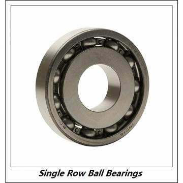 80 mm x 125 mm x 22 mm  FAG 6016-2Z  Single Row Ball Bearings