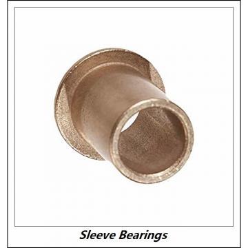 GARLOCK BEARINGS GGB G20DXR  Sleeve Bearings