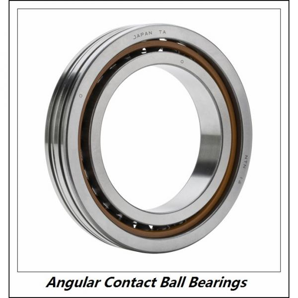 0.394 Inch | 10 Millimeter x 1.181 Inch | 30 Millimeter x 0.563 Inch | 14.3 Millimeter  NSK 5200ZZJ  Angular Contact Ball Bearings #4 image
